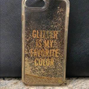 Kate Spade GlitterIsMyFavoriteColor IPhone Plus